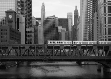 Elevated Train/Lake Street Bridge