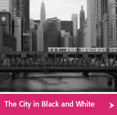 City of Chicago Black and White Photos