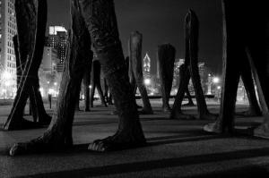 Agora Sculpture- Grant Park