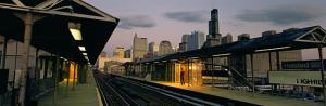 Halsted Green Line CTA Chicago Photo