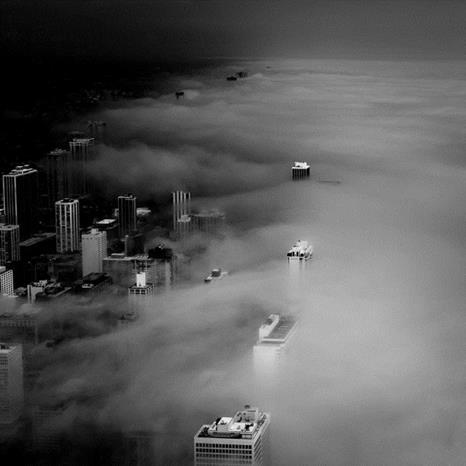 Fog – Chicago Skyline