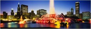chicago photographs buckingham fountain